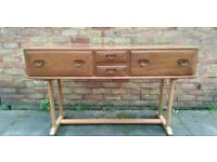 1960s ercol console table