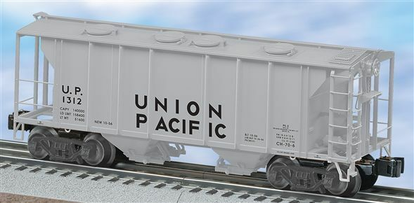 Lionel 6-27016 Union Pacific Ps-2 2 Bay Covered Hopper