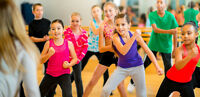 Zumba Kids Classes available at Core Dance Studio