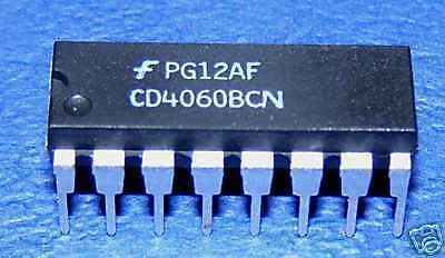 CD4060 4060 14 Stage  Binary Counter ..........Lot of 25