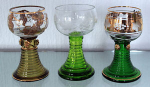 GermanRoemer Wine Glasses