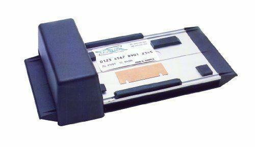 credit card slide machine