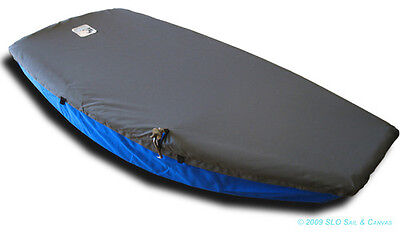 Naples Sabot Sailboat - Boat Deck Cover - Gray Polyester Top Cover