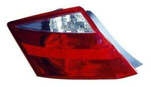 2008-2010 Honda Accord Tail Light Passenger Side Coupe