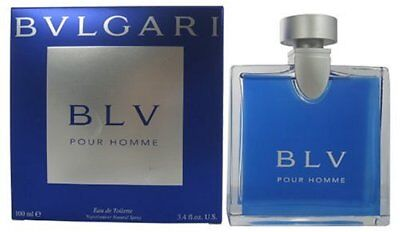 Bvlgari BLV pour Homme by Bvlgari 3.4 oz EDT Cologne for Men New In (Bvlgari For Men)