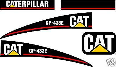 Caterpillar Cp-433e Vibratory Compactor - Graphics Kit