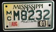 Motorcycle License Plate