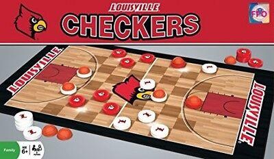 MasterPieces Louisville Cardinals Checkers