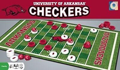 MasterPieces Arkansas Razorbacks Checkers
