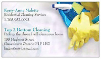 Gravenhurst Housekeeping Services: 705 952 0093