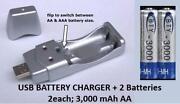 AA USB Charger