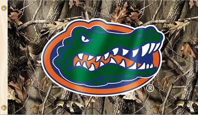 Florida Gators 3' x 5' Flag (Realtree Camo) NCAA Licensed 5' Realtree Camo Flag
