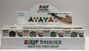 KRAZY SPINNER **BOX OF 48 FIDGET SPINNERS ** FREE SHIPPING