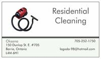 Residential Cleaning Services by European -15 years experience