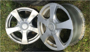 Aluminum wheels 15 inch( fits 2015 civic )