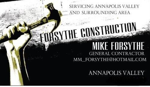 Forsythe Construction Available For Work Renovations