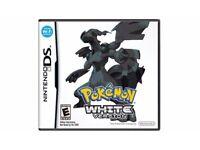 Pokemon White Nintendo DS Game