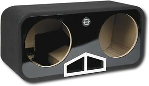 "Bassworx HPR212G 12"" Dual Ported Subwoofer Enclosure - NEW"