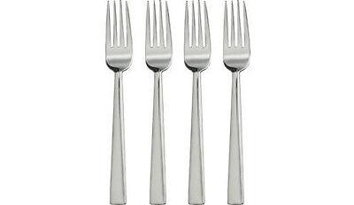 20pcs Appetizer Mini FORKS Beautiful Silver Chrome PLASTIC Small Tiny - Appetizer Forks