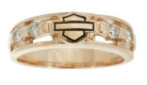 harley davidson diamond rings - Harley Wedding Rings