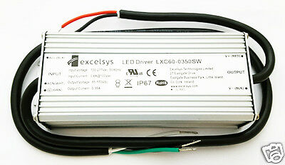 Power Supply Acdc Converter Led Driver 60w 100-277vac 0.8a Lxc60-0350sw 1 Pc