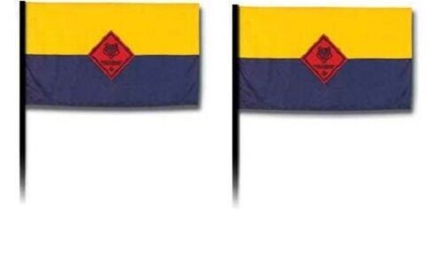 """2 SET LOT CUB BOY SCOUT OFFICIAL COLLECTORS FLAG 4X6"""" USA MADE NEW"""