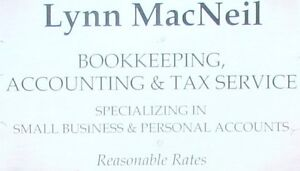 Lynn Macneil  Bookkeeping ,  Accounting and Tax service