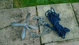3.2kg / 7lb Grapnel anchor