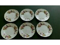 Crown Staffordshire Windermere side plates