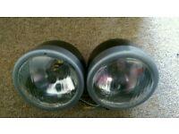 Motorbike headlights and indicators