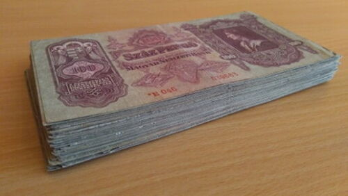 Hungary 100 Pengo Circulated 1930 Banknote