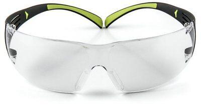 3m Sf401af Protective Eye Wear Safety Glasses Clear Anti-fog Lens Securefit New