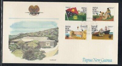PAPUA NEW GUINEA Commonwealth Day FIRST DAY COVER
