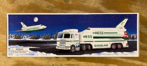 Hess Toy Truck and Space Shuttle with Satellite Vintage 1999