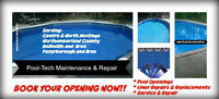 Book Your Pool Opening Now!  Liners,Leaks,Repairs,Renovations...