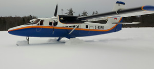 RARE HANGER 9 LARGE SCALE TWIN OTTER RC AIRPLANE