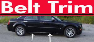 Chrysler 300C CHROME SIDE BELT TRIM DOOR MOLDING 2005 2006 2007 2008 2009 2010