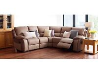 Harveys Holden ex display corner sofa recliner