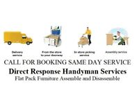 IKEA Flat Pack Furniture collection delivery assembly moving furniture re assemble Handyman job repa