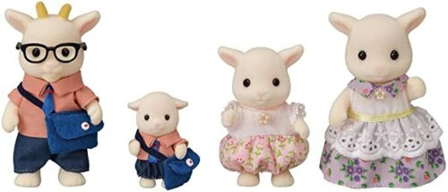 Epoch Calico Critters Sylvanian Families GOAT FAMILY FS-43 Japan F/S