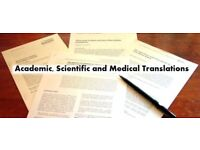 Academic, Scientific and Medical Translations