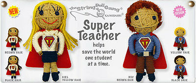 Kamibashi Super Teacher Boy The Original String Doll Gang Keychain Clip
