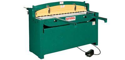 National 52 Hydraulic Sheet Metal Shear 16 Ga
