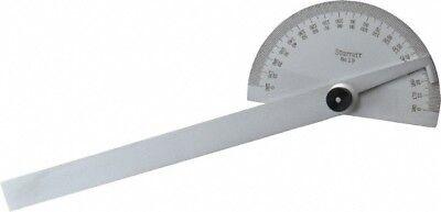 Starrett 6 Inch Long Blade 180deg Max Measurement 1deg Dial Graduation...
