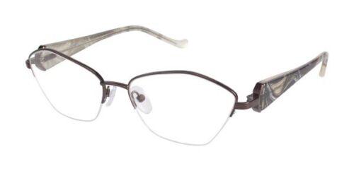 Tura Eyeglasses R545 DBR Brown 53-16-135mm - $60.00