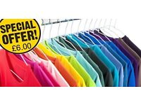 T-shirt Printing from £6.00