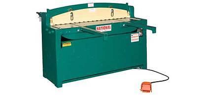 National 52 Hydraulic Sheet Metal Shear 10 Ga