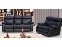 Maryl 3 and 2 bonded leather recliner