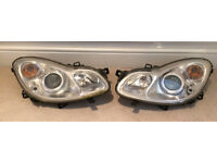 2 x SMART CAR FORTWO HEADLAMPS - FULL WORKING ORDER