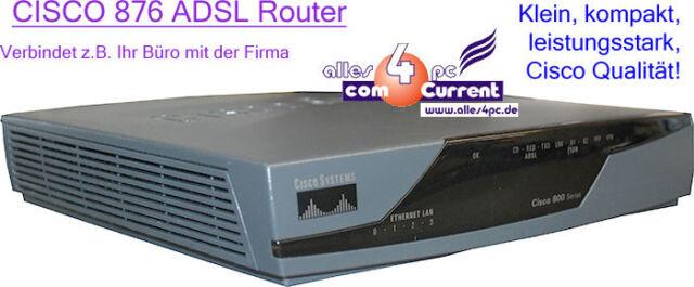 CISCO 876 CISCO876-SEC-I-K9 ADSL-OVER-ISDN ROUTER NETZWERK